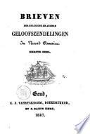 Brieven der Belgische en andere geloofszendelingen in Noord America