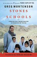 . Stones Into Schools .