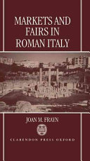 Markets and Fairs in Roman Italy