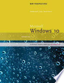 New Perspectives Microsoft Windows 10 Introductory