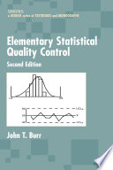 Elementary Statistical Quality Control, 2nd Edition