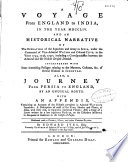 A Voyage from England to India