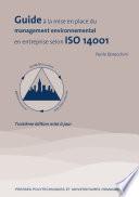 Guide    la mise en place du management environnemental en entreprise selon ISO 14001