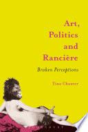 Art  Politics and Ranci  re