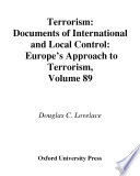 Terrorism Documents of International and Local Control