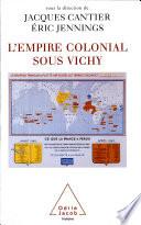 Empire colonial sous Vichy  L