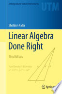 linear-algebra-done-right
