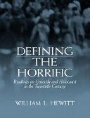 Defining the Horrific