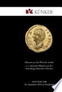 K  nker Auktion 280   Ausgew  hlte M  nzen aus der Welt der Antike u  a  r  mische M  nzen aus der Sammlung Hannelore Scheiner  Herbst Auktionen 2016