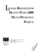 Locating Resources For Healthy People 2000 Health Promotion Projects