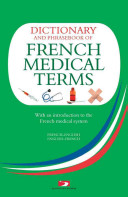 A Dictionary of French Medical Term
