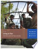 Sri Lanka, Living in Fear