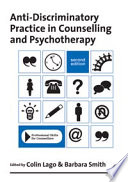 Anti Discriminatory Practice in Counselling   Psychotherapy