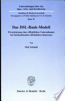 Das DSL Bank Modell