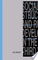 Social Structure and Rural Development in the Third World