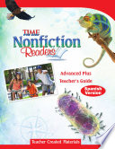 TIME For Kids Nonfiction Readers  Advanced Plus Teacher s Guide  Spanish Version