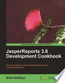 JasperReports 3 6 Development Cookbook