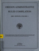 Oregon Administrative Rules