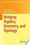 Bridging Algebra  Geometry  and Topology