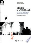 illustration du livre Design d'expérience