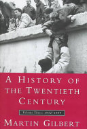 A History of the Twentieth Century: 1952-1999