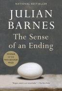 The Sense of an Ending Book Cover