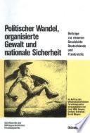 Politischer Wandel, organisierte Gewalt und nationale Sicherheit