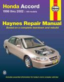 Honda Accord 1998 2002