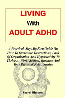 Living With Adult Adhd