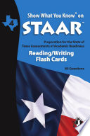 SWYK on STAAR Reading Writing Gr  4  Flash Cards