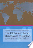 The Global and Local Dimensions of English