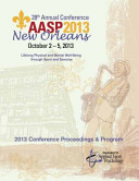 AASP 2013 Conference Proceedings and Program