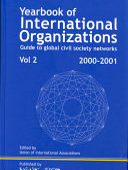 Yearbook International Organization book