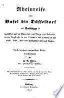 Rheinreise von Basel bis D  sseldorf