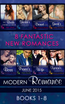 Modern Romance June 2015 Books 1 8  Mills   Boon e Book Collections