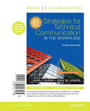 Strategies for Technical Communication in the Workplace  Books a la Carte Edition  MLA Update Edition
