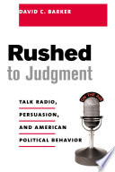 Ebook Rushed to Judgment Epub David Barker Apps Read Mobile