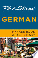 Rick Steves  German Phrase Book   Dictionary