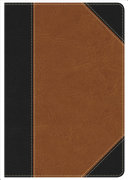 KJV Study Bible Personal Size, Black/Tan Leathertouch Indexed