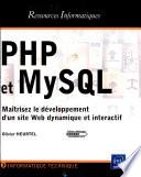 Php Et Mysql Ma Trisez Le D Veloppement D Un Site Web Dynamique Et Interactif