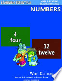 Number Flash Cards  Numbers and Critters