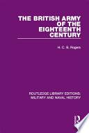 The British Army of the Eighteenth Century