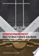 Dimensionnement des structures en bois