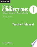 Making Connections Level 1 Teacher s Manual
