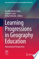 Learning Progressions In Geography Education