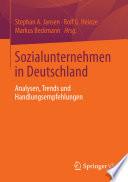 Sozialunternehmen in Deutschland