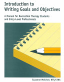 Introduction to Writing Goals and Objectives