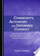 Community Autonomy And Informed Consent