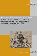 Krieg und Literatur/War and Literature Vol. XIV, 2008