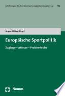 Europäische Sportpolitik